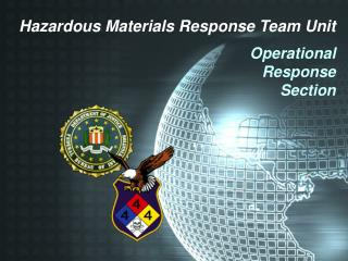 Hazardous Materials Response Team Unit Operational Response Section