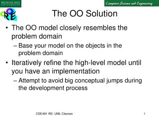 The OO Solution