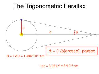 The Trigonometric Parallax