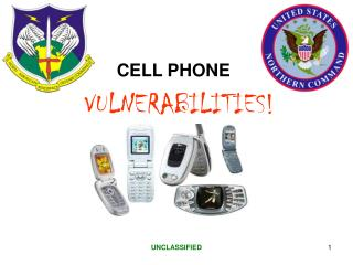 CELLULAR PHONE VULNERABILITY Be Aware Your cellular telephone ...