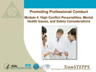 Promoting Professional Conduct