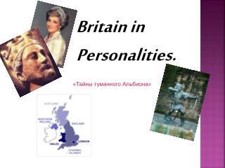 Britain in Personalities.