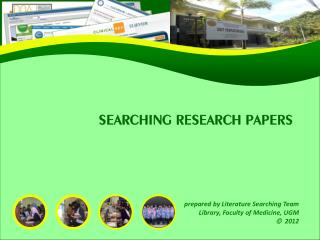 SEARCHING RESEARCH PAPERS