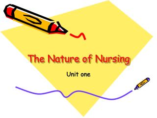 The Nature of Nursing