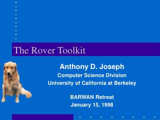 The Rover Toolkit
