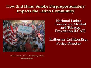 How 2nd Hand Smoke Disproportionately Impacts the Latino Community