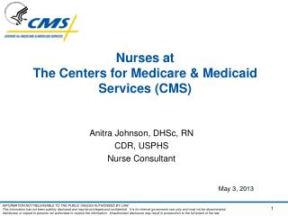Nurses at  The Centers for Medicare & Medicaid Services (CMS)