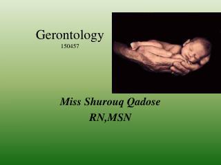 Gerontology 150457