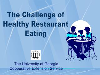 The University of Georgia Cooperative Extension Service
