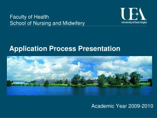 Application Process Presentation