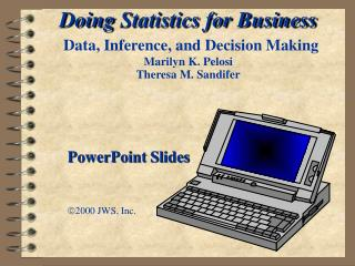 PowerPoint Slides  2000 JWS, Inc.