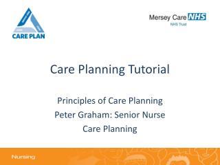 Care Planning Tutorial