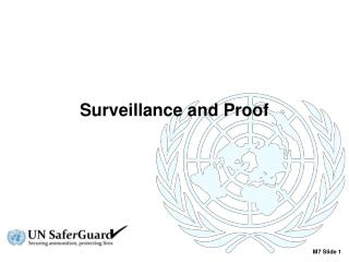 Surveillance and Proof