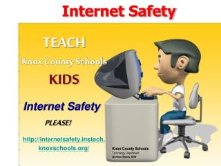 Internet Safety for Teachers and Parents
