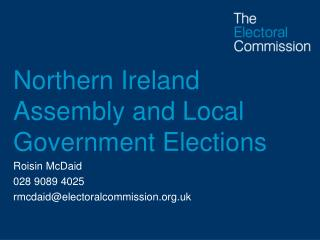 Northern Ireland Assembly and Local Government Elections