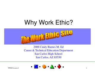 Why Work Ethic?