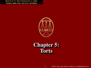 Chapter 5: Torts
