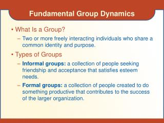 Fundamental Group Dynamics