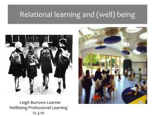 Relational learning and well being