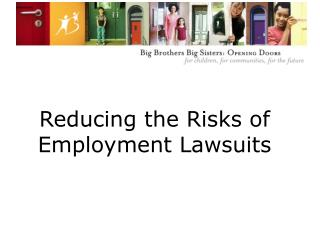 Reducing the Risks of Employment Lawsuits