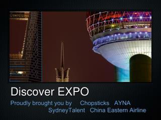 Discover EXPO