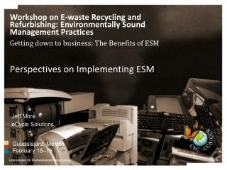 Perspectives on Implementing ESM