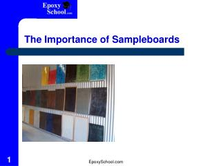 The Importance of Sampleboards
