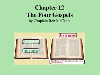 Chapter 12  The Four Gospels by Chaplain Ron McCants