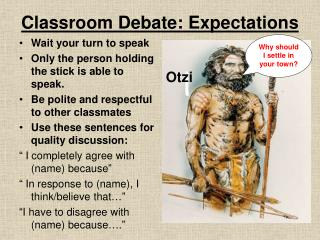 Classroom Debate: Expectations