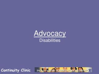 Advocacy Disabilities