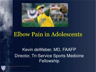 Elbow Pain in Adolescents