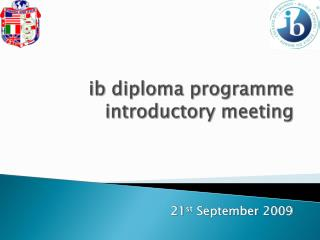 ib diploma programme introductory meeting