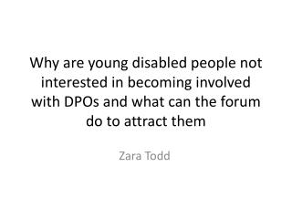 Zara Todd