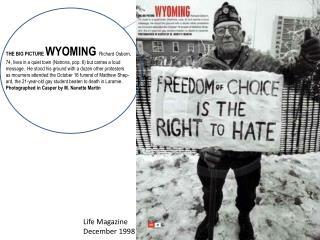 Life Magazine December 1998