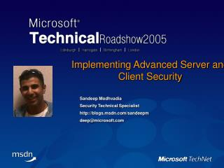 Implementing Advanced Server and Client Security