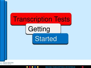 Overview of Testing Procedures