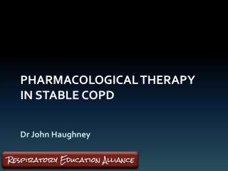 Pharmacological therapy in stable COPD