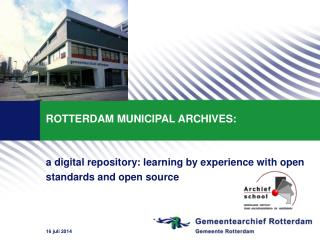 ROTTERDAM MUNICIPAL ARCHIVES: