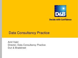 Data Consultancy Practice