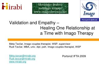 Validation and Empathy –  Healing One Relationship at a Time with Imago Therapy