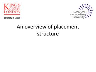 An overview of placement structure
