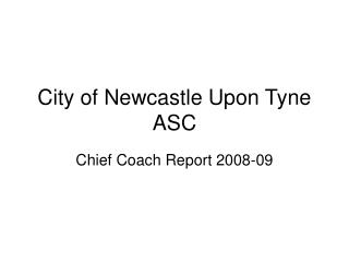 City of Newcastle Upon Tyne ASC