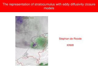 The representation of stratocumulus with eddy diffusivity closure models