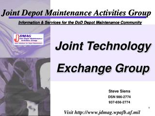 Joint Technology Exchange Group