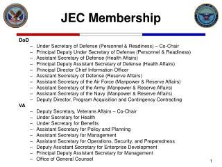 JEC Membership