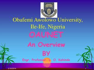 Obafemi Awolowo University, Ile-Ife, Nigeria
