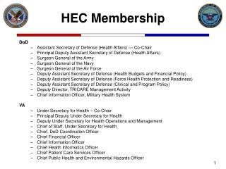 HEC Membership