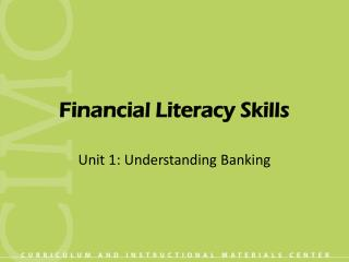 Financial Literacy Skills