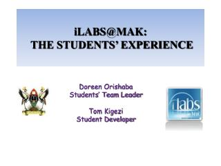 iLABSMAK:  THE STUDENTS  EXPERIENCE