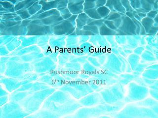 A Parents� Guide